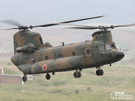 CH-47JA 輸送ヘリコプター