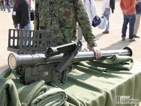 携帯 誘導 地 弾 91 対空 式