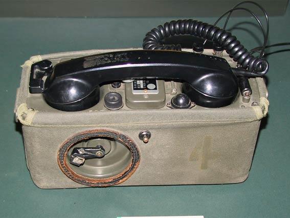 携帯電話機(野外電話機)1号 JT...